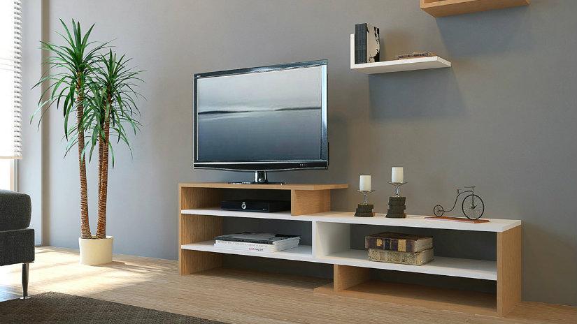 Tavolini In Vetro Porta Tv : Porta tv moderno laccato grigio con ripiano vetro forma ovale